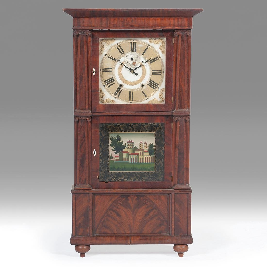 Isaac Packard  Triple Decker Clock