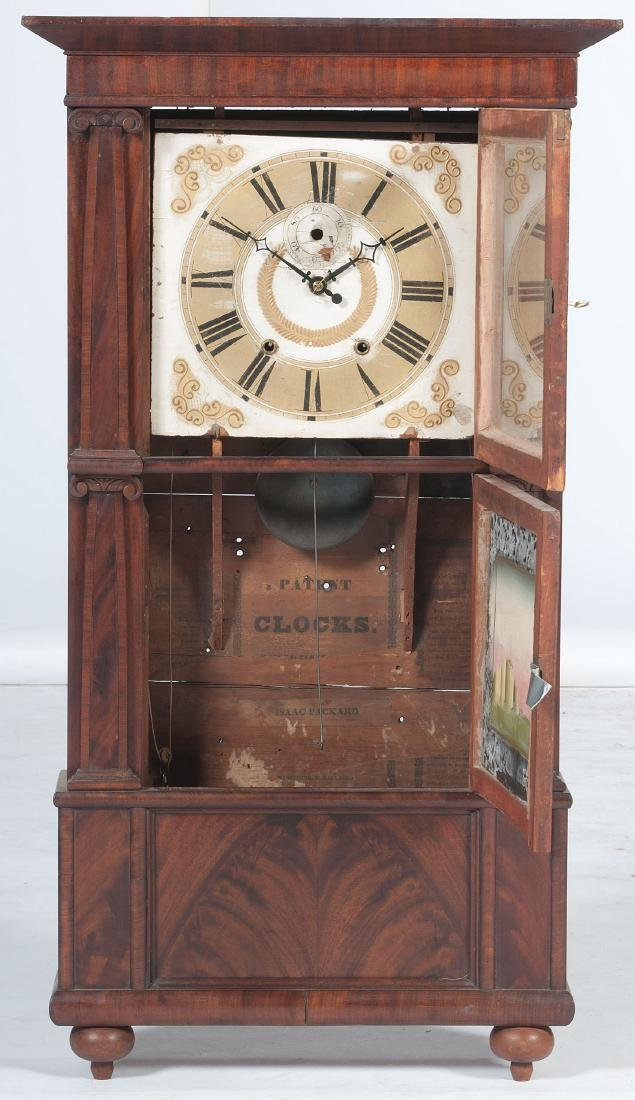Isaac Packard  Triple Decker Clock - 2