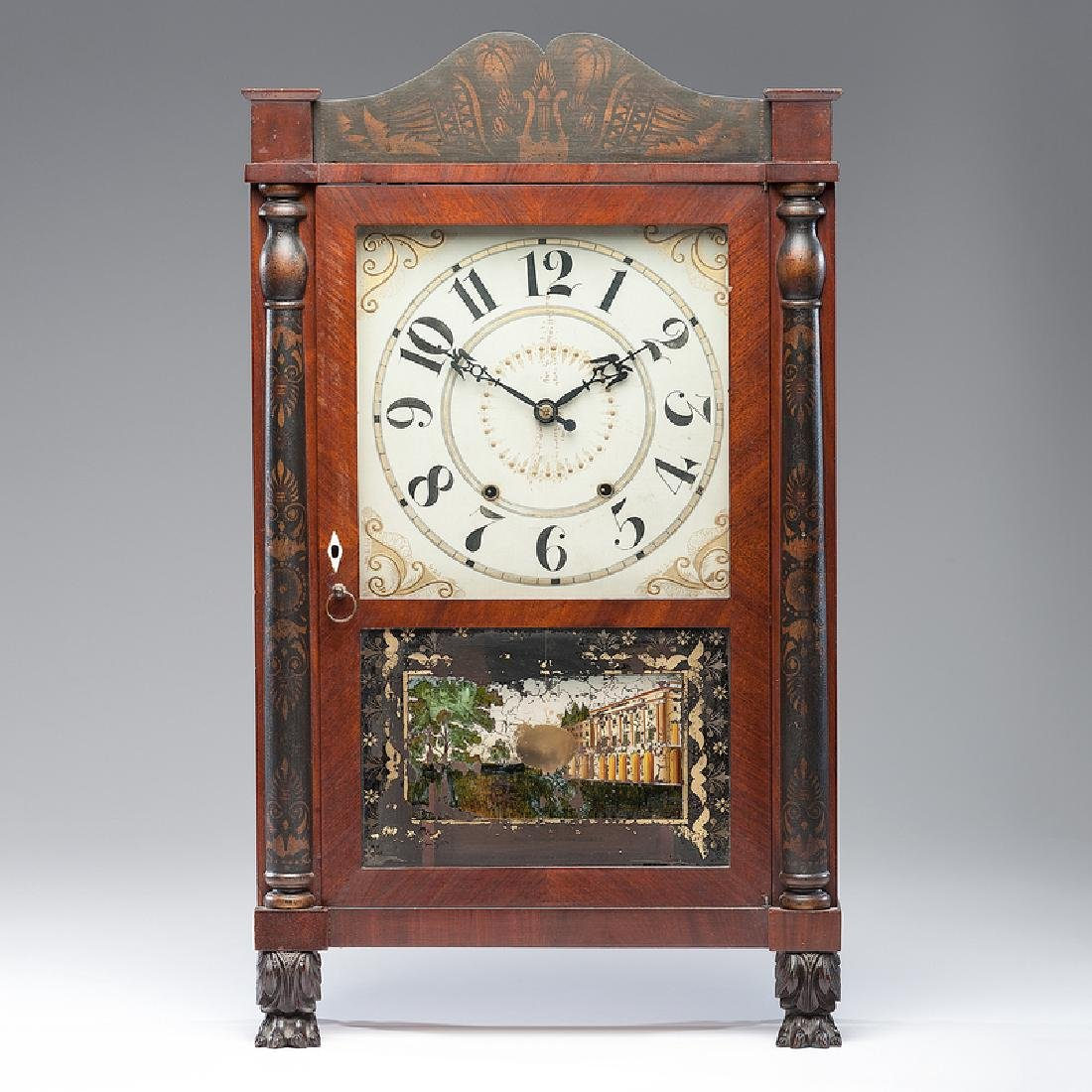 Mark Leavenworth & Co.  Shelf Clock