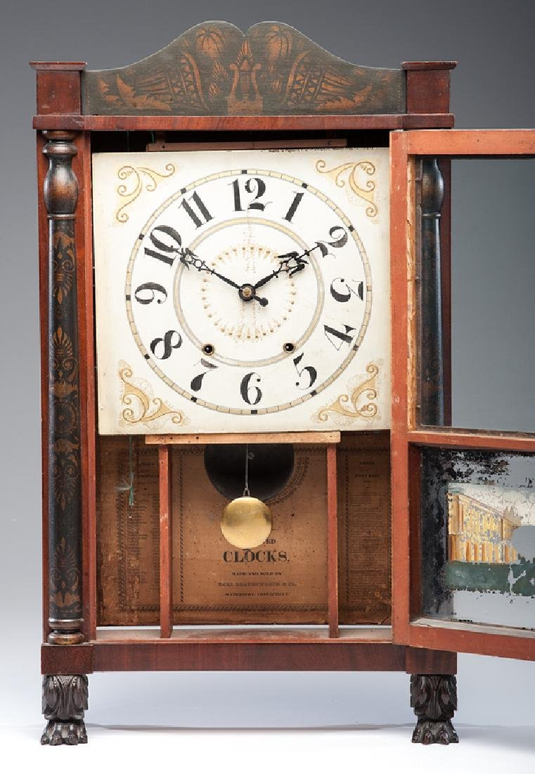 Mark Leavenworth & Co.  Shelf Clock - 2