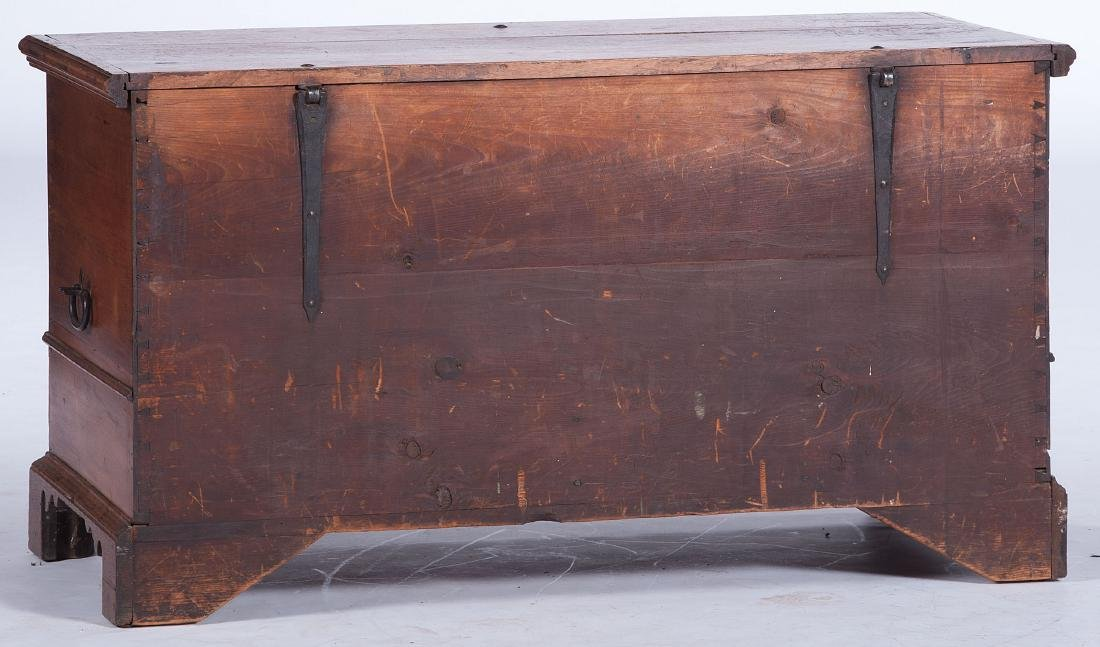 Pennsylvania Chippendale Walnut Blanket Chest - 5