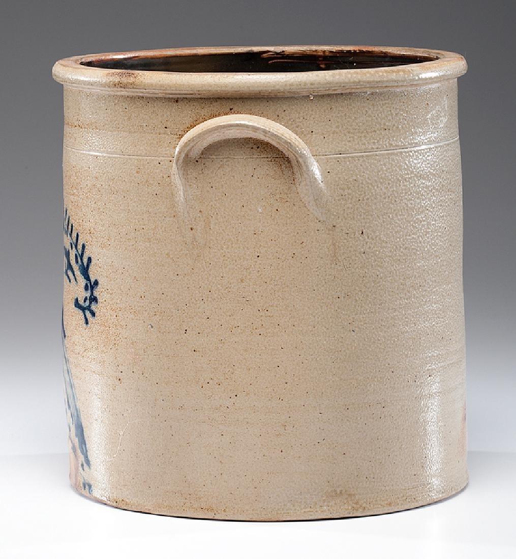 N. A. White & Co.  Six-Gallon Stoneware Crock - 3