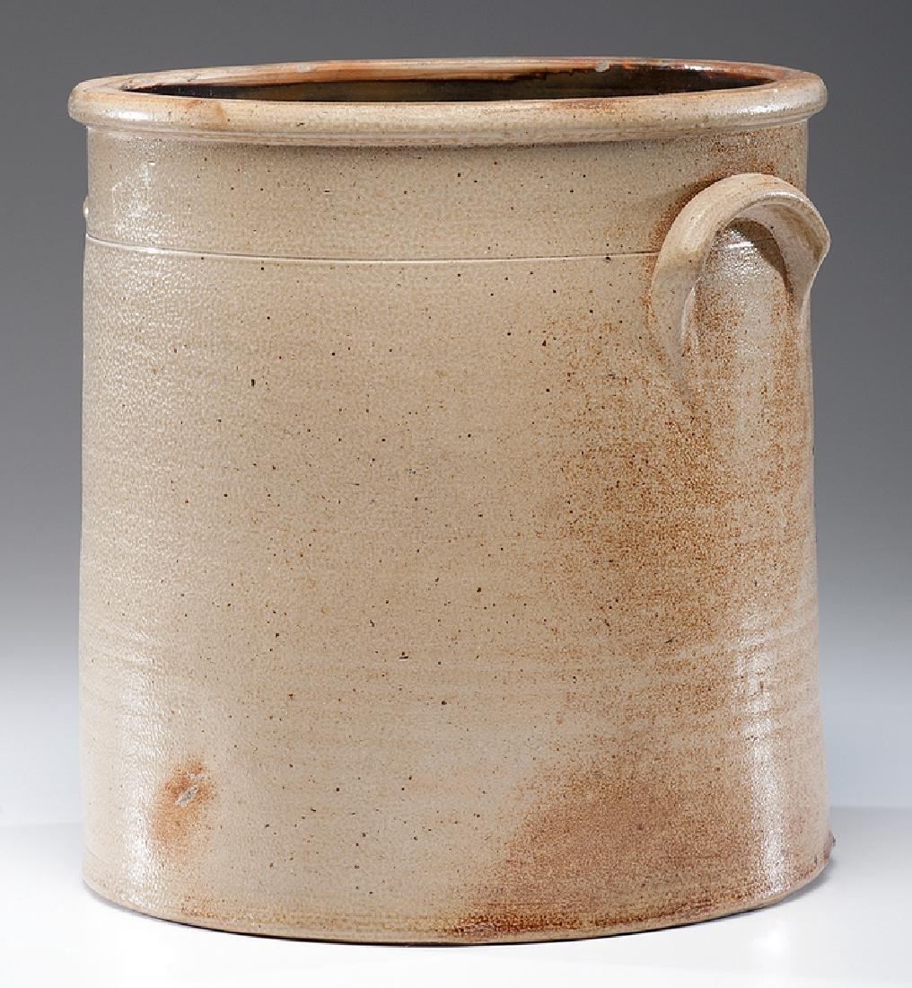 N. A. White & Co.  Six-Gallon Stoneware Crock - 4