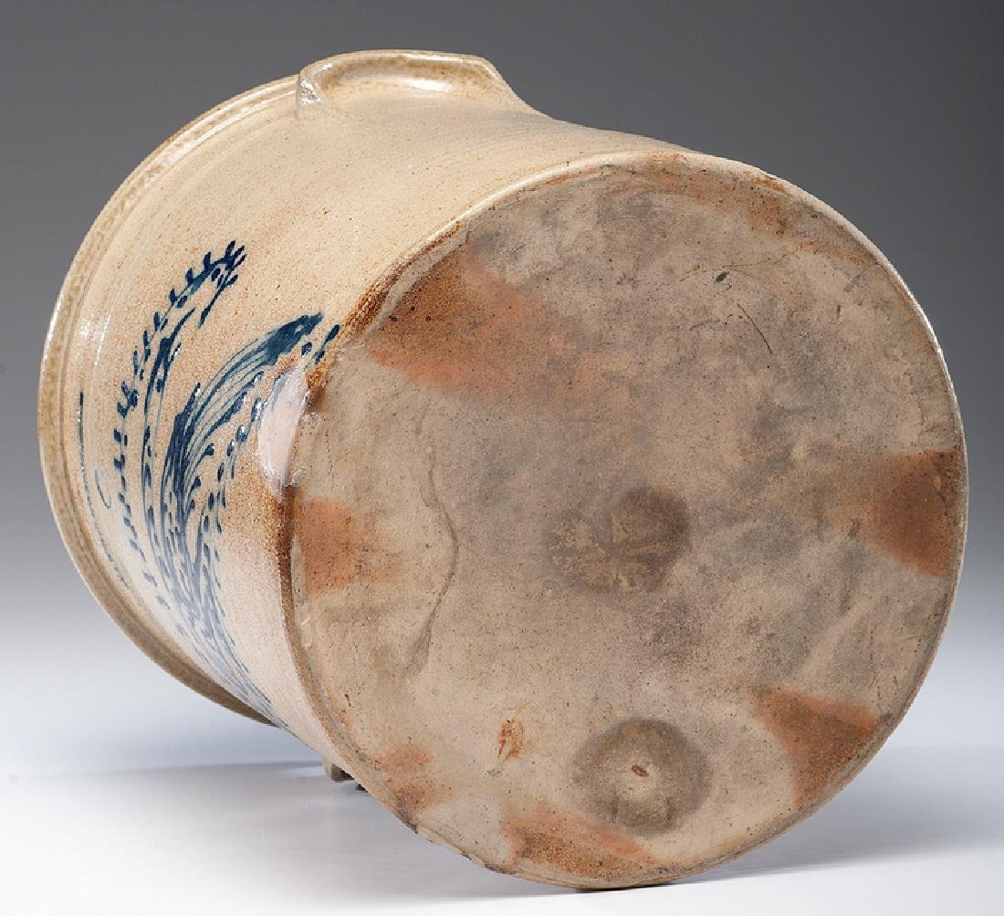 N. A. White & Co.  Six-Gallon Stoneware Crock - 5