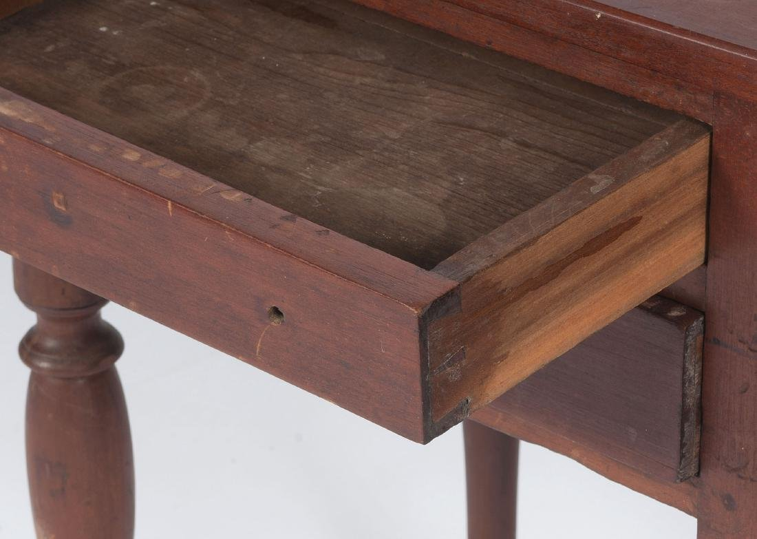 Cherry Two Drawer Stand - 2
