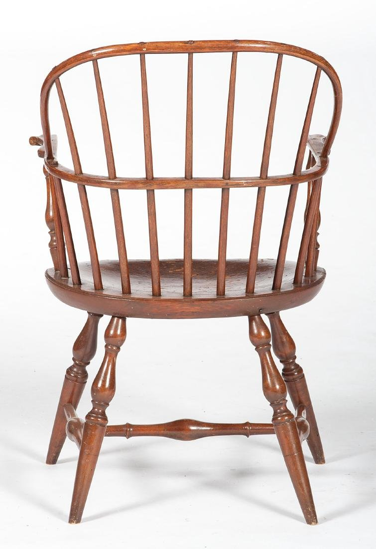 Sack Back Windsor Chair with Knuckle Arms - 3