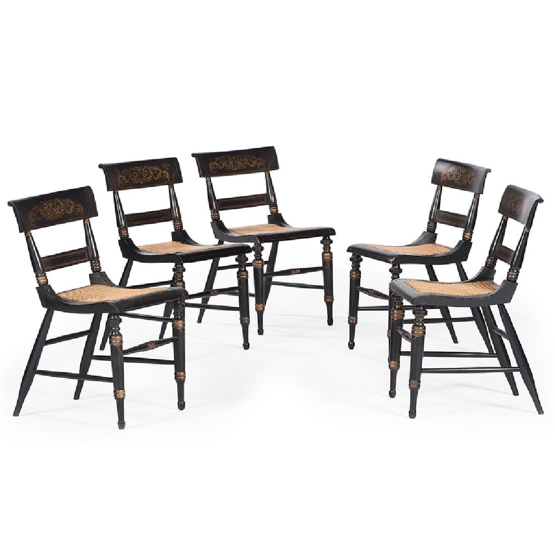 Sheraton Stenciled Chairs
