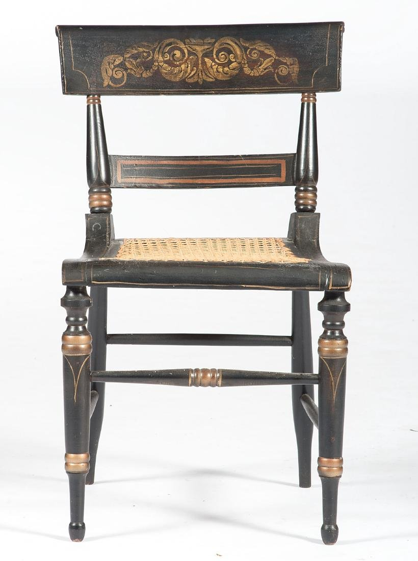 Sheraton Stenciled Chairs - 2