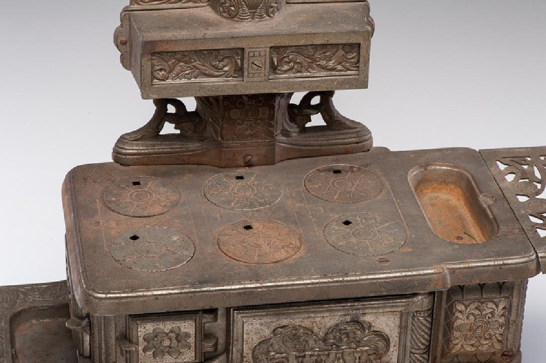 """Rival"" Cast Iron Toy Stove - 2"