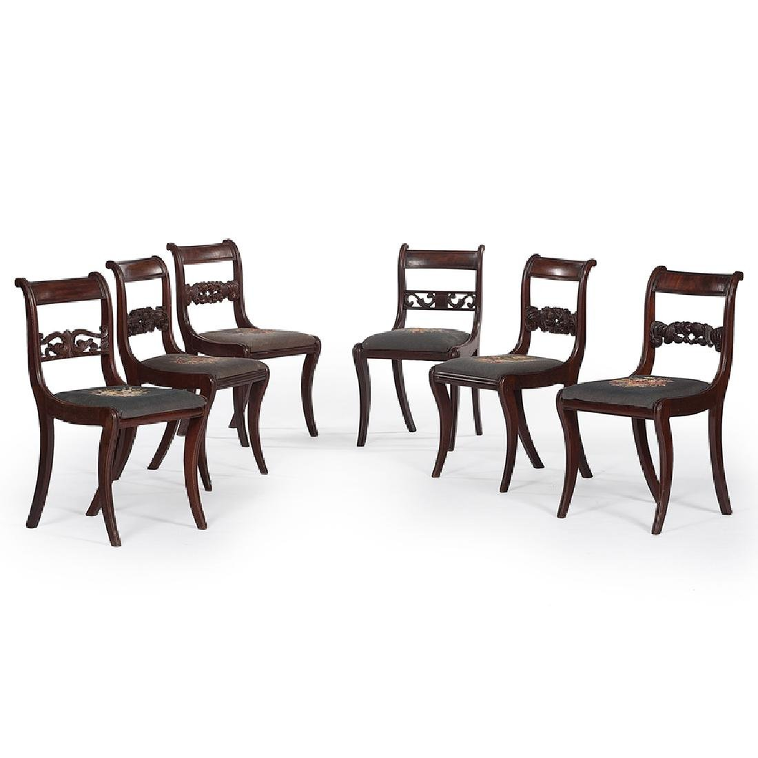 Classical Mahogany Chairs