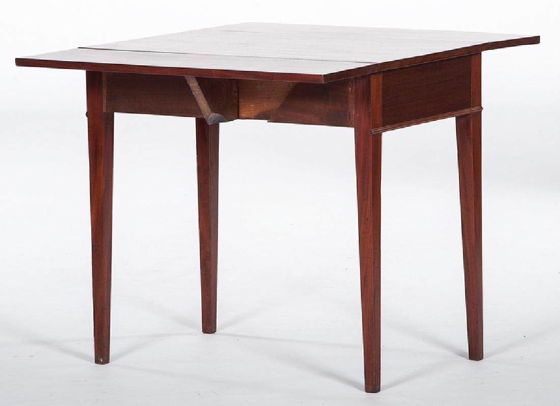 Mahogany Drop Leaf Table - 2