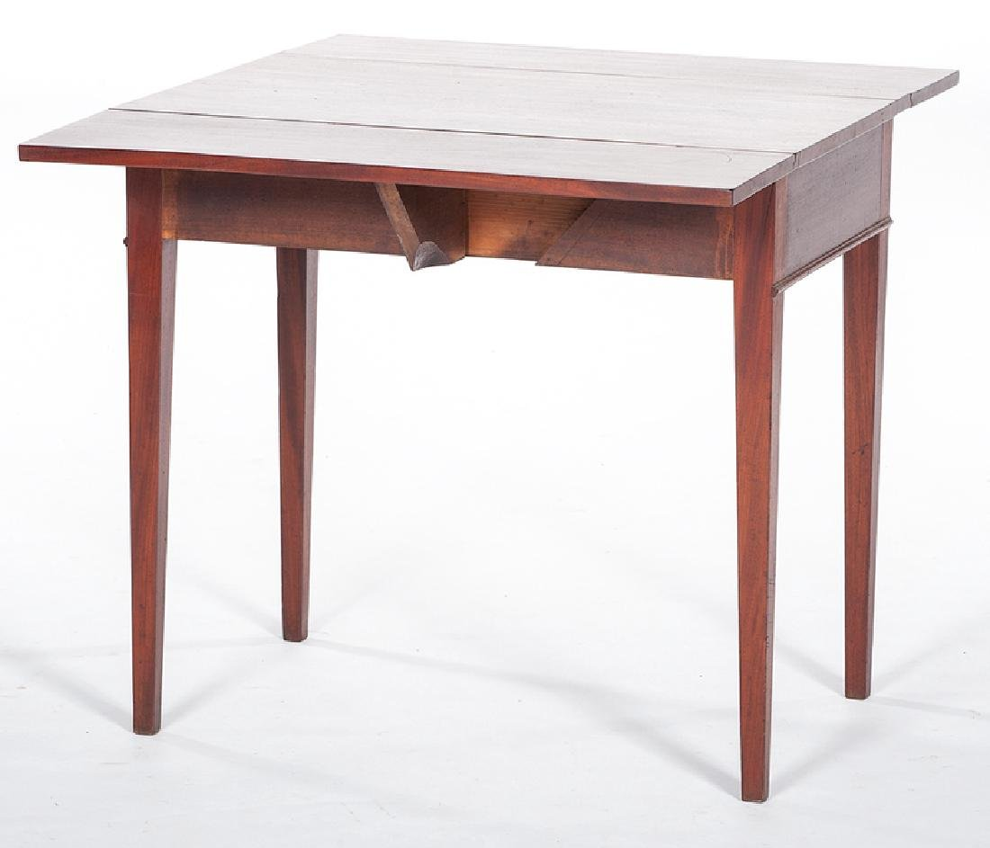 Mahogany Drop Leaf Table - 4