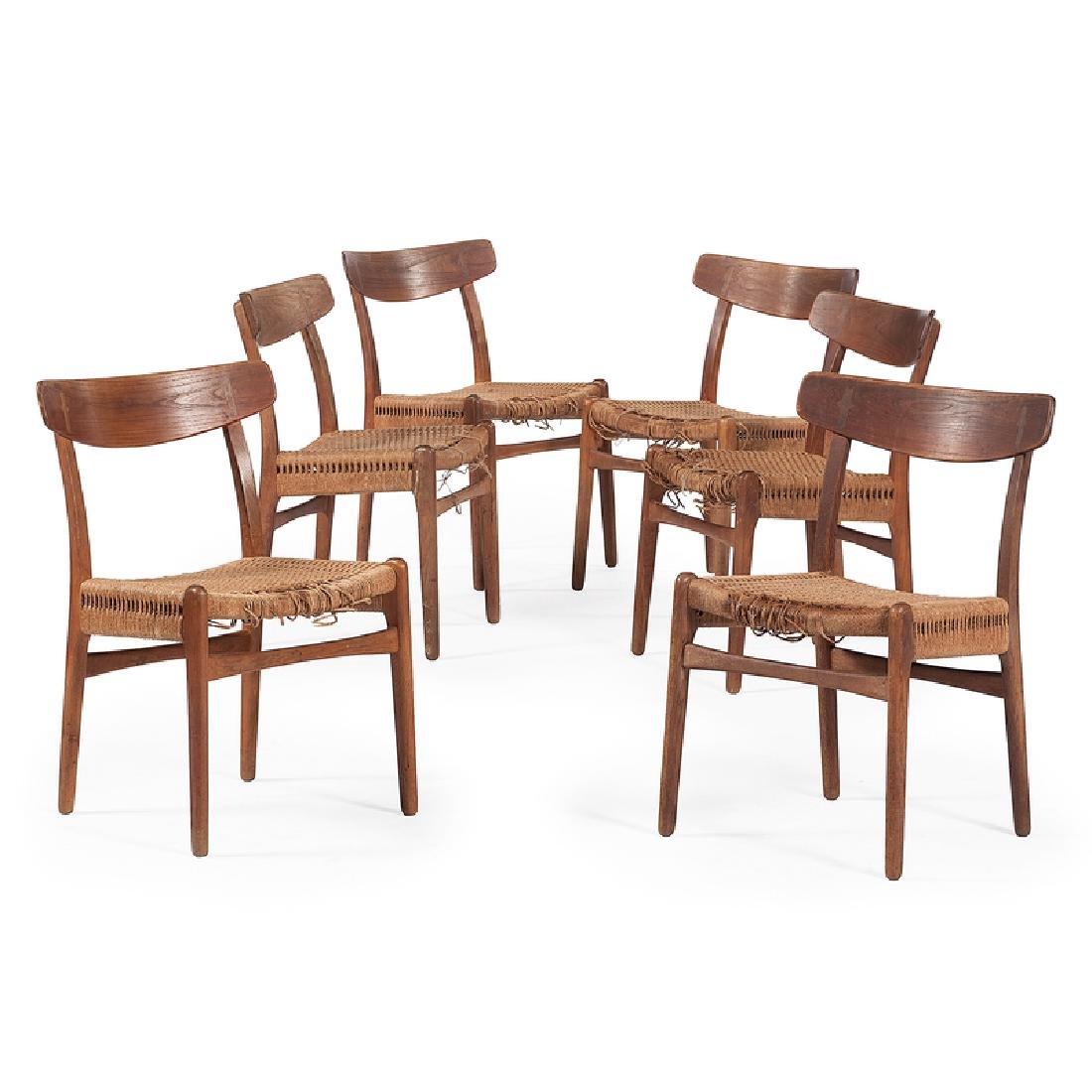 Hans J. Wegner CH-23 Modernist Dining Chairs