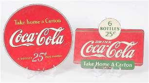 CocaCola Take Home a Carton Advertising Signs