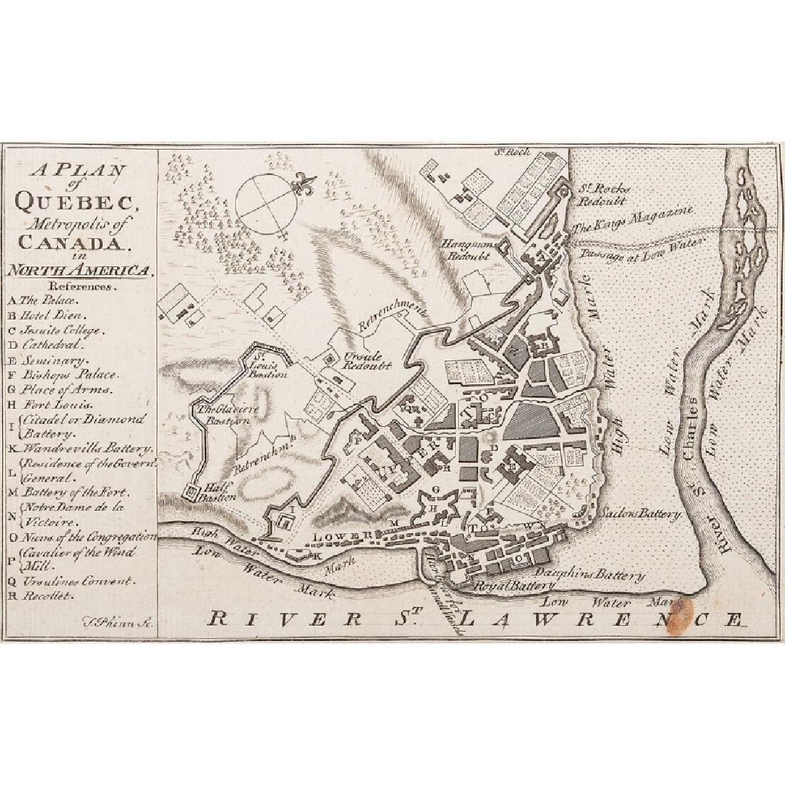 The Scots Magazine Containing Maps of the Battle of the