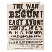 The War Has Already Begun New York 13th Regiment