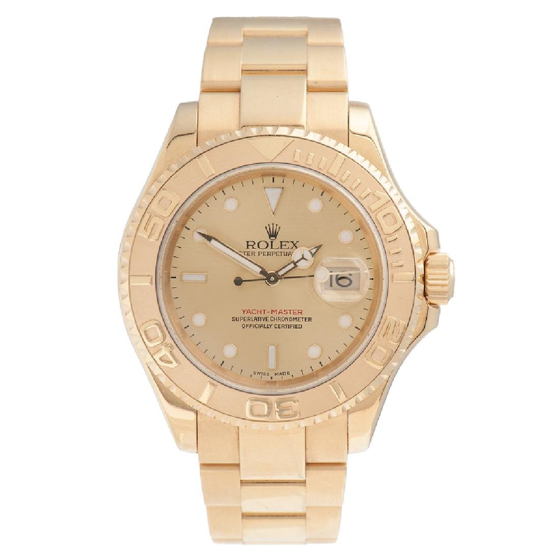 Rolex Oyster Perpetual Date Yacht Master 40 in 18 Karat