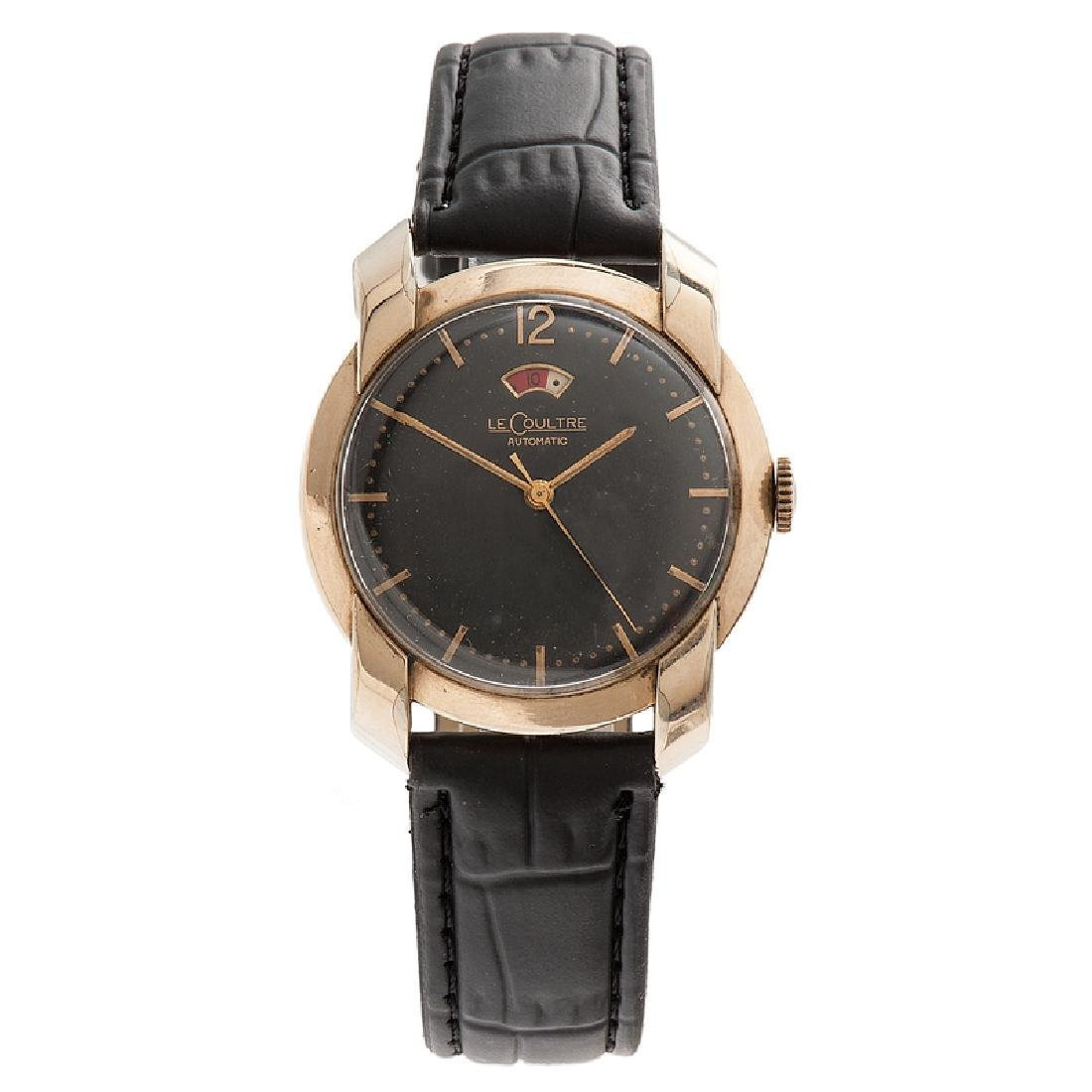 LeCoultre Automatic Power Reserve in 10 Karat Gold