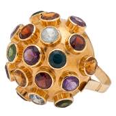 H. Stern Sputnik Style Ring in 18 Karat Yellow Gold