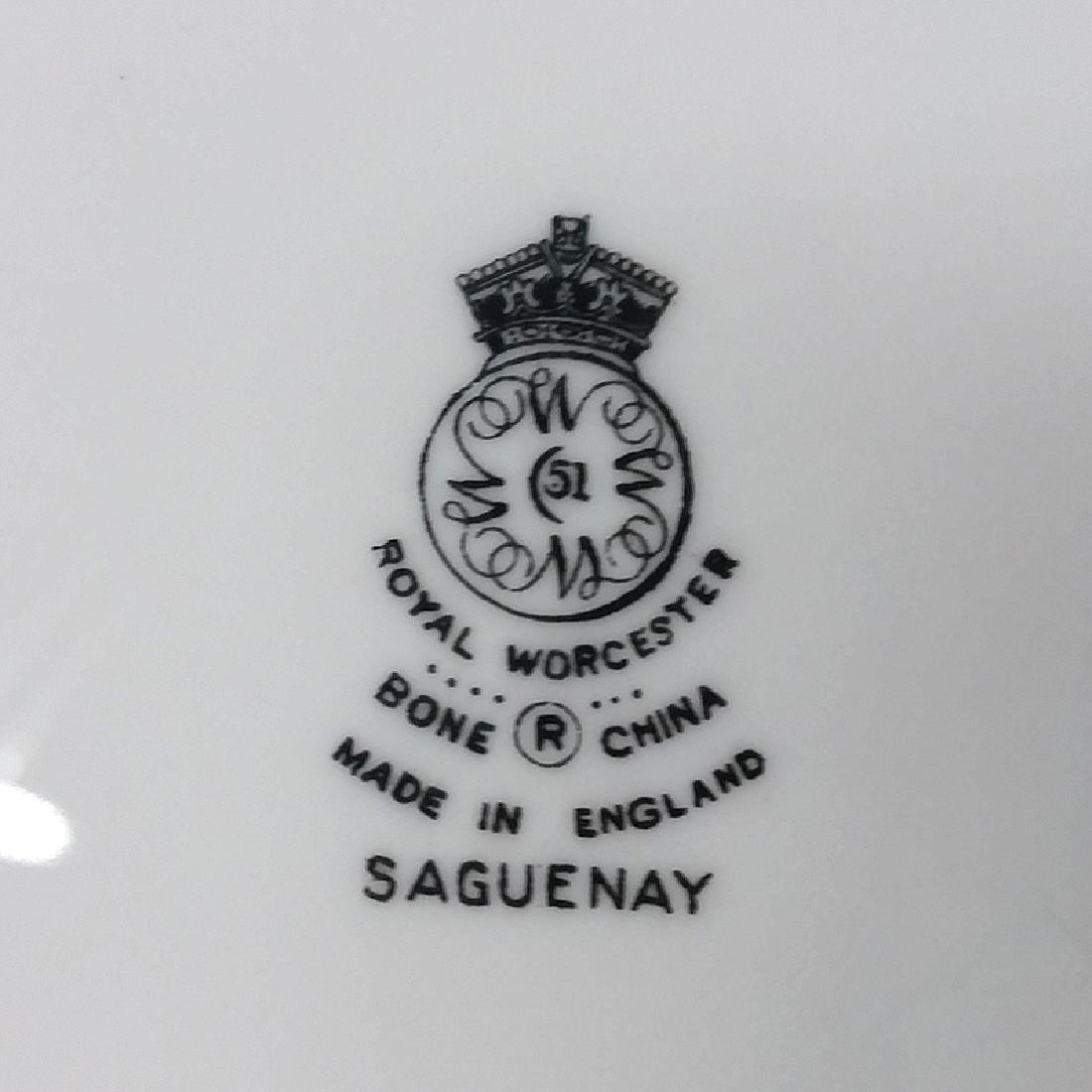 Royal Worcester Saguenay Plates, Plus - 3