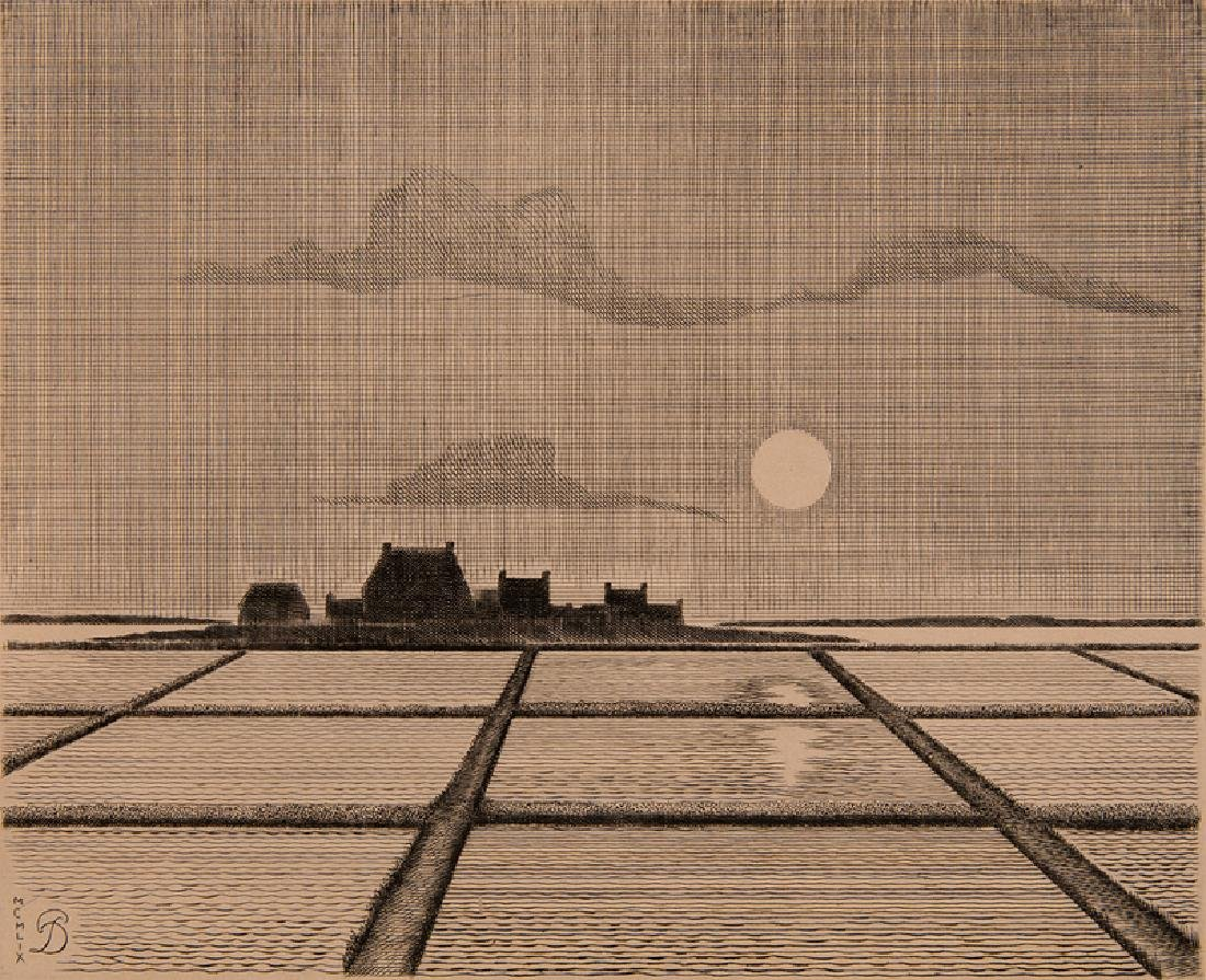 Pierre Dubreuil (French, 1891-1970) Etching