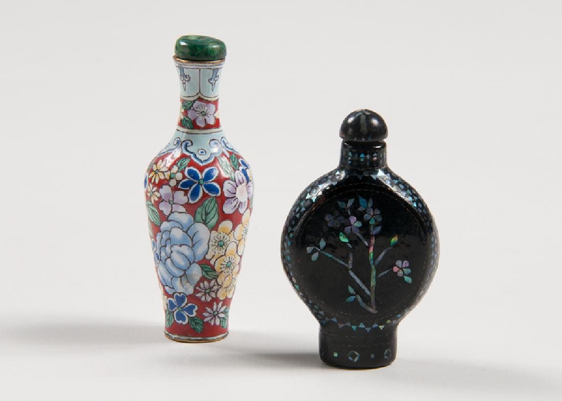 Lacquer and Enamel Snuff Bottles