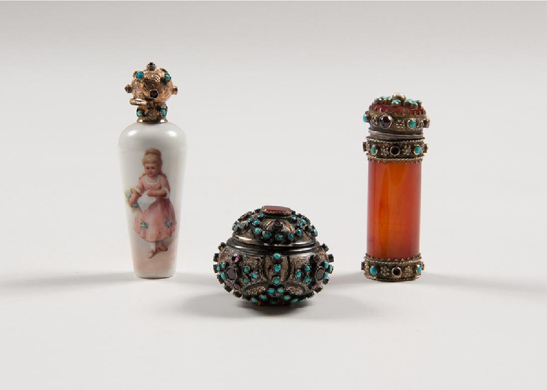 Austrian Jeweled Vessels