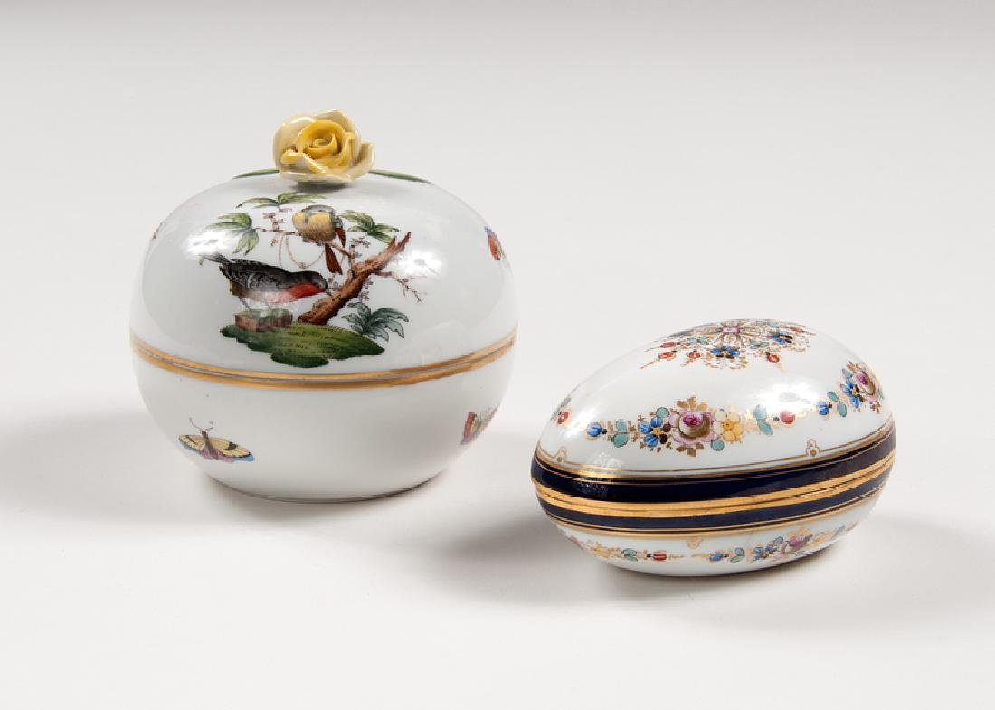 Continental Porcelain Boxes