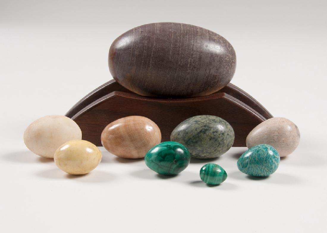 Stone and Malachite Eggs