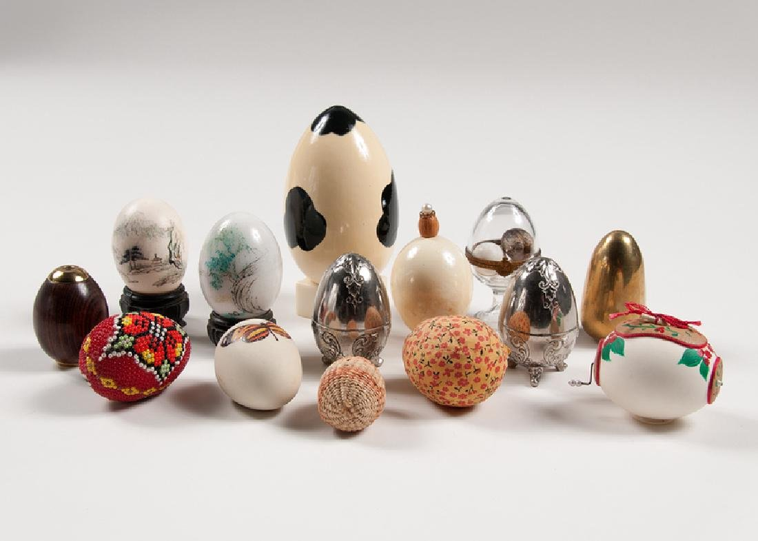 Assorted Decorative Eggs