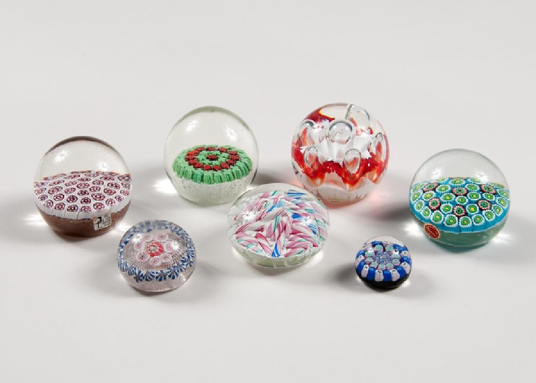 Murano and Other Glass Paperweights
