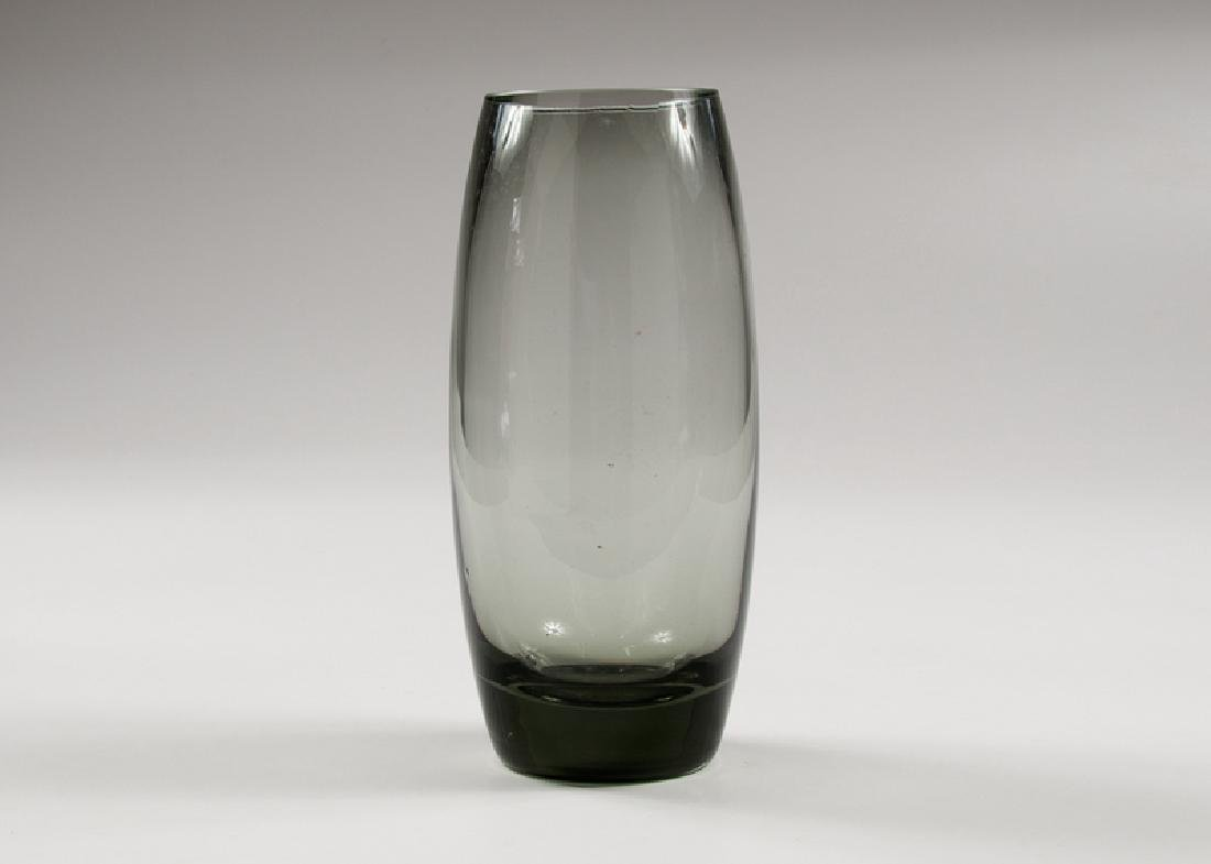 Holmegaard Swedish Mid-Century Glass Vase