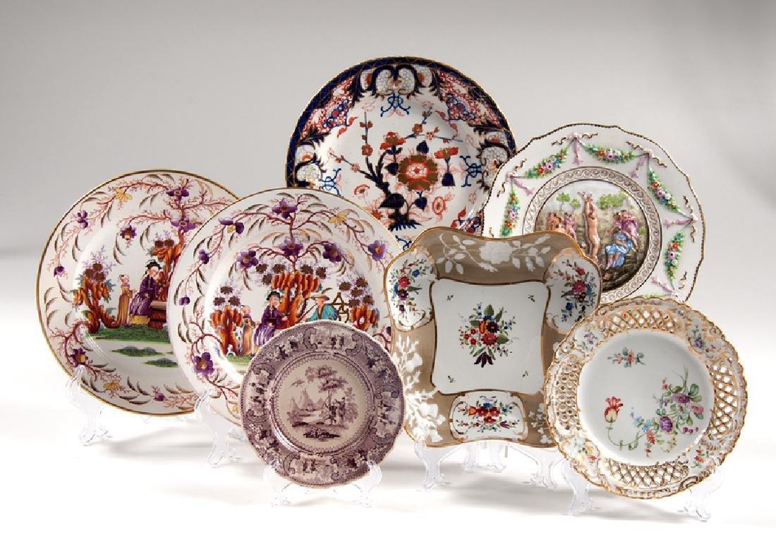British Porcelain Dishes, Plus