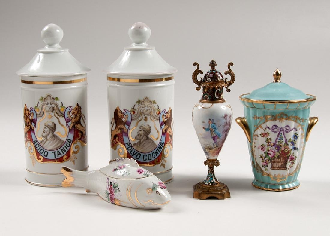 French Lidded Vessels