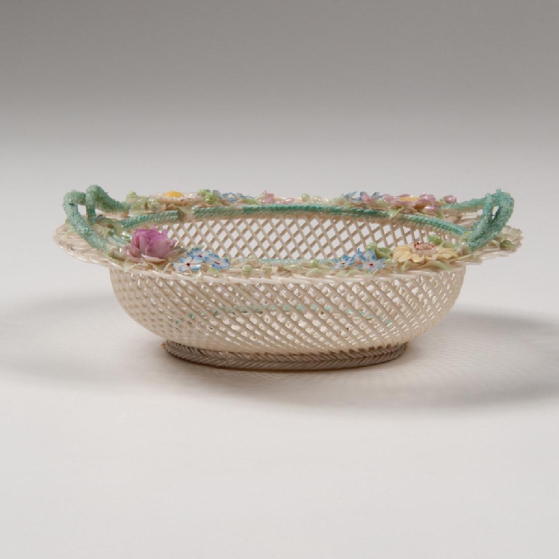 Belleek Openwork Basket