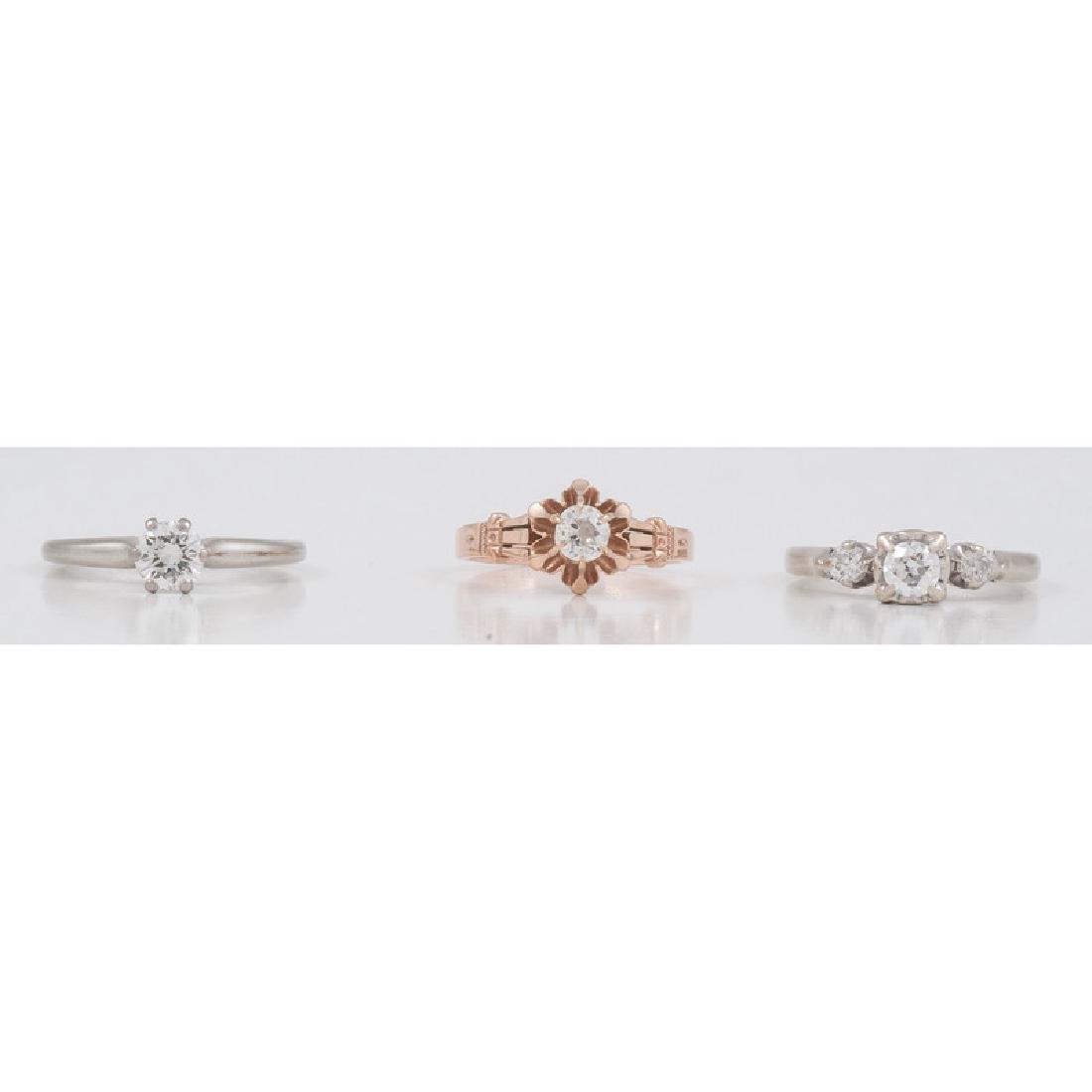 Diamond Rings in Karat Gold