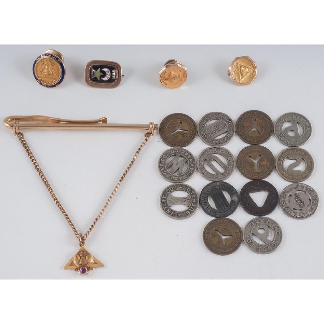 14 Karat Gold Award Pins PLUS 8.6 Dwt.
