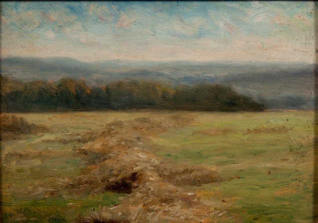 William Edward Norton (American, 1843-1916) Oil on