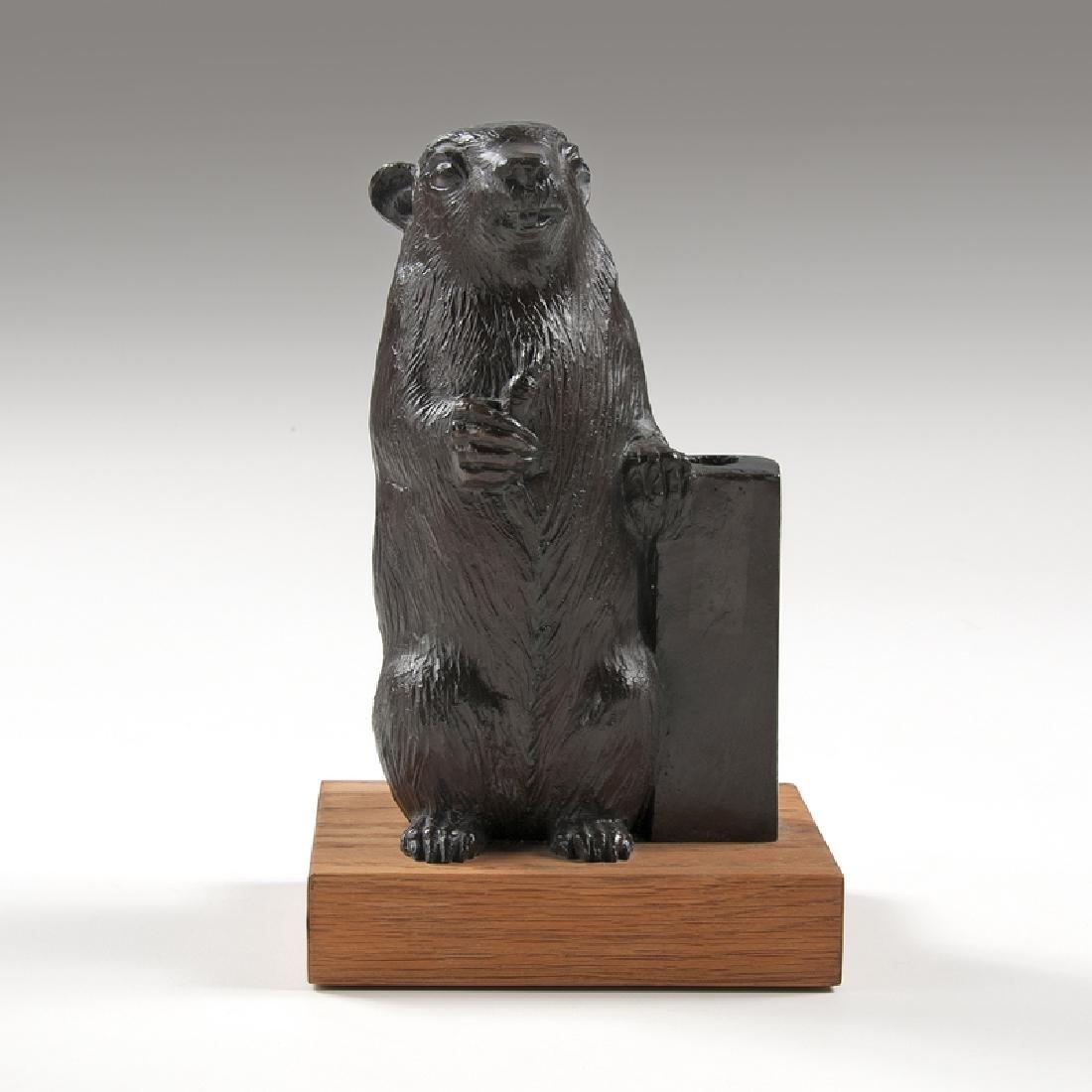 William McVey (American,1905-1995) Bronze Rowfant Club