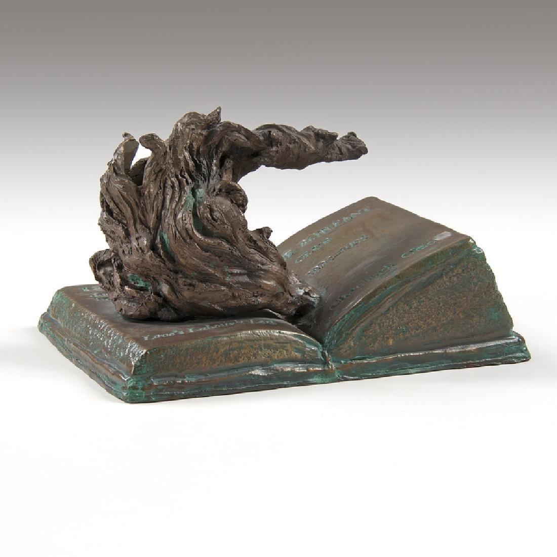 Sandro Bonaiuto (20th Century) Rowfant Club Bronze