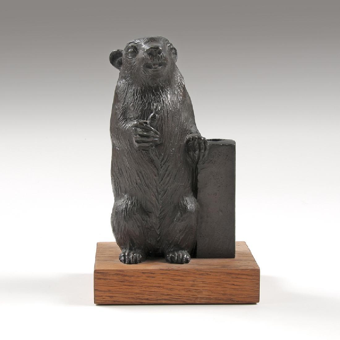William McVey (American,1905-1995) Rowfant Club Bronze