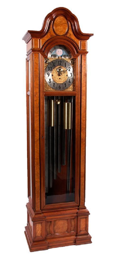 Herschede Sheffield Nine-Tube Case Clock