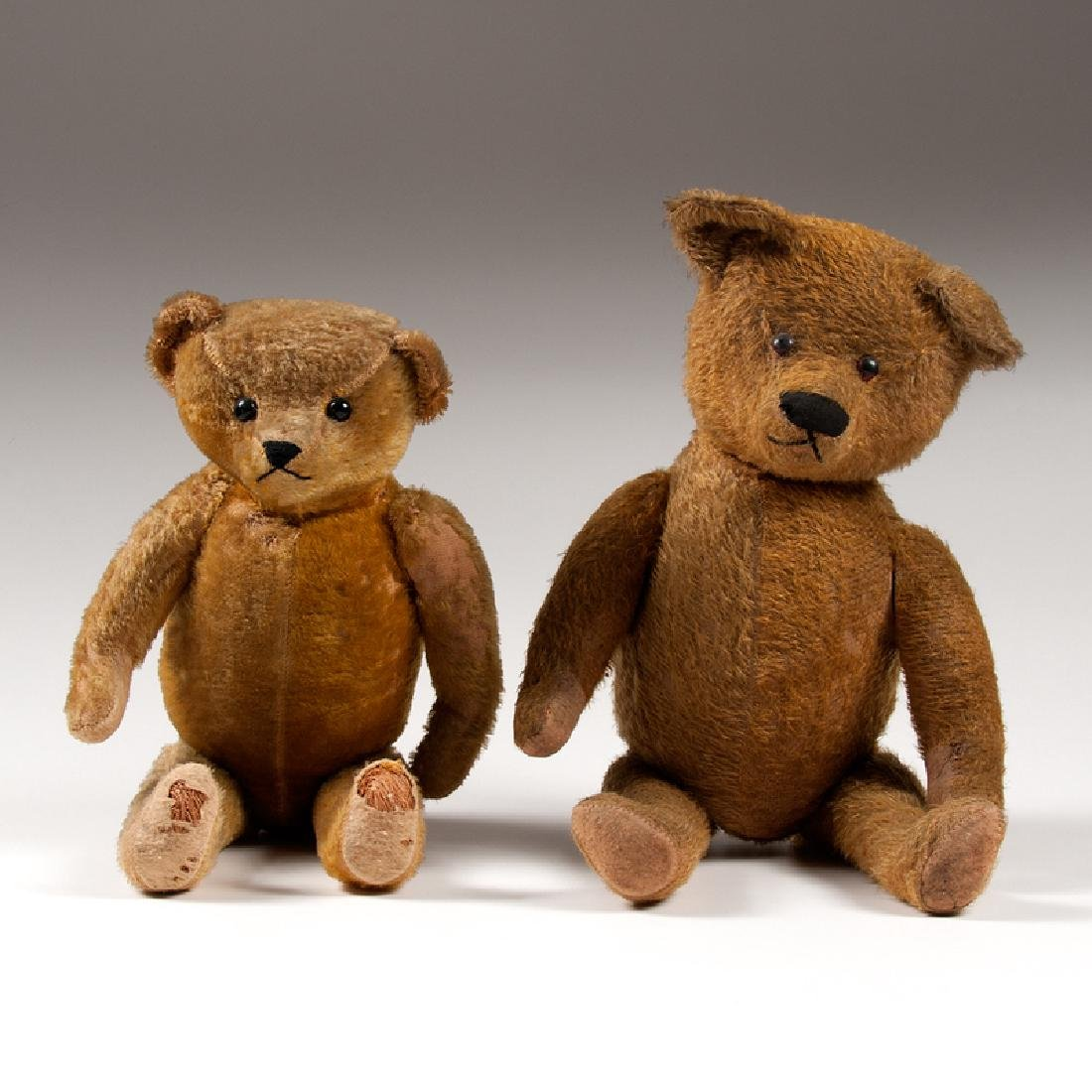 Ideal Teddy Bears, Lot of Two