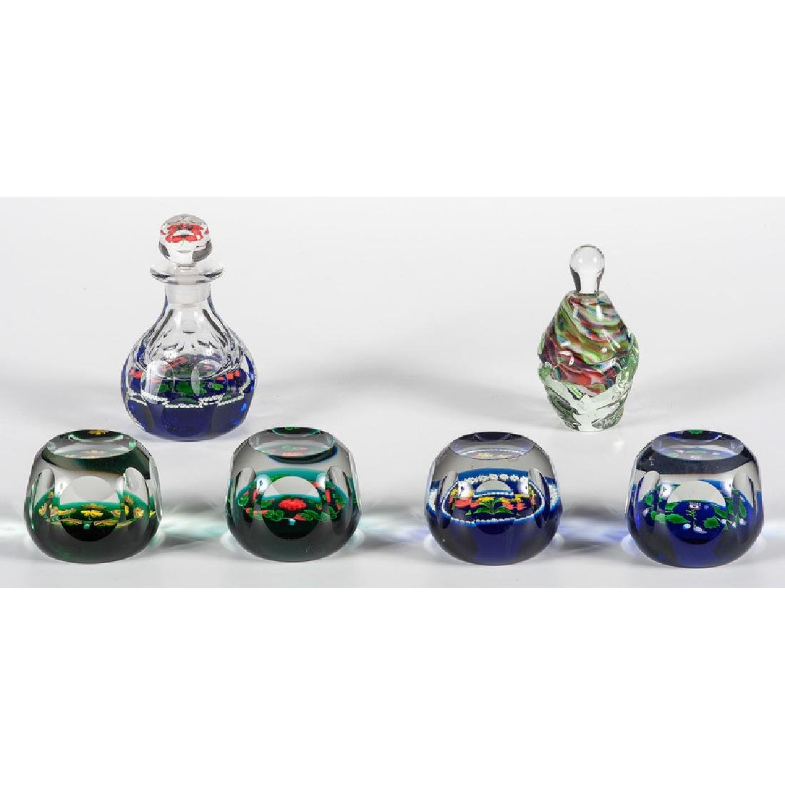 Caithness National Quartet Paperweights and Perfume