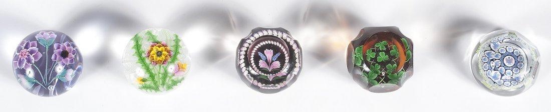 Caithness Seasonal Glass Paperweights - 2