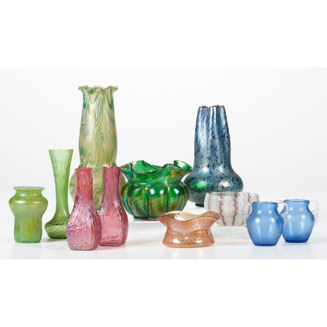 Art Glass Vases and Bowls