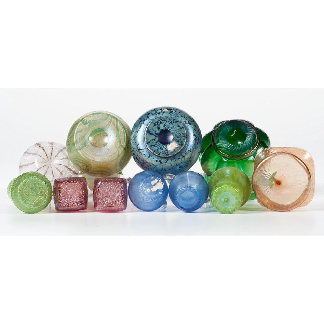 Art Glass Vases and Bowls - 3