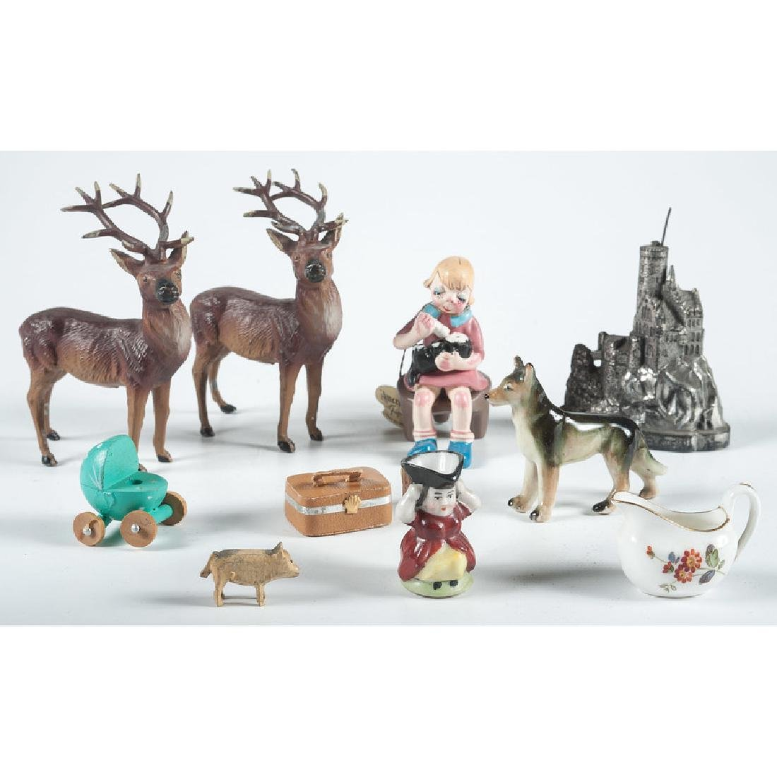 Collection of Miniature Furniture, Toys and Other Items