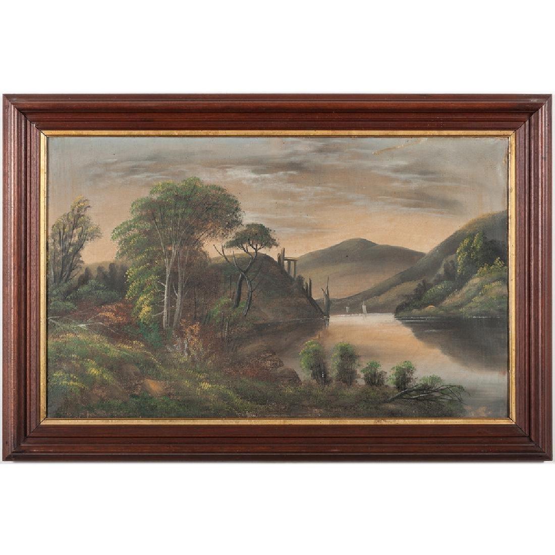 Hudson River School Landscape