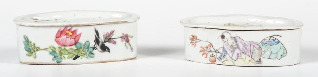 Chinese Porcelain Soap Dishes